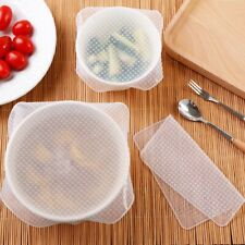Silicone Bowl Cover Reusable Vacuum seal foods wrap Cover Silicone Food Cover