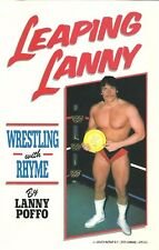 VERY RARE  Leaping Lanny Poffo Signed Wrestling  Autobiography  w/COA