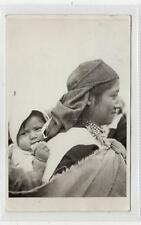 MOTHER AND CHILD: Ecuador postcard sent to England with CLIPPER cachet (C30700)