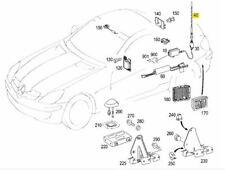 Original Mercedes Benz Antenne für Antennenmast Radio + Antennenfuss SLK R171