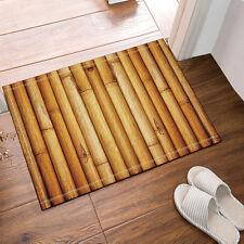 bamboo Kitchen Bath Bathroom Shower Floor Home Door Mat Rug Non-Slip 40*60cm