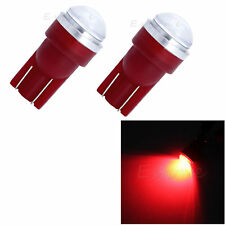 2X T10 168 194 W5W 2-LED 5730 SMD Rear Side Signal Lights Lamp Bulb 12V Red