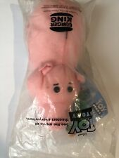 """Vintage"" Disney Pixar Toy Story Hamm the Pig 9"" Plush Puppet Toy Burger King"