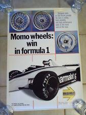 Vintage Formula 1 Brabham - Ford - Parmalat / MOMO Wheels Poster - 19 x 27