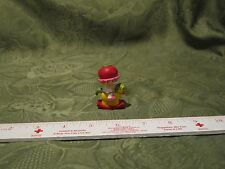 "Vintage Strawberry Shortcake PVC 2"" mini Cherry Cuddler Rocking Horse red hat"