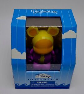 Disney Vinylmation Disney Vacation Club Jaune Zones Clé Mickey Mouse Figurine