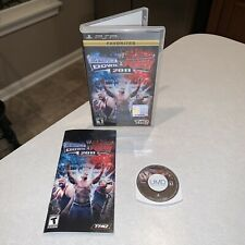PSP WWE SmackDown vs. Raw 2011 Complete CIB Favorites RARE - TESTED, EXCELLENT!