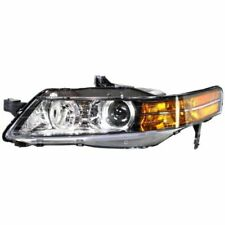 For Acura TL 07-08, Driver Side Headlight, Clear Lens