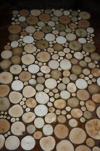 Astscheiben, Baumscheiben, Holzscheiben, 1-9 cm Größe u. Stückzahl frei wählbar