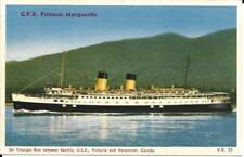 C.P.R. Princess Marguerite, triangle run between Seattle, Victoria and Vancouver