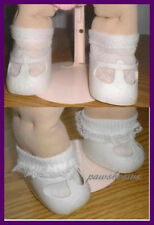 2 Pairs of SOCKS fit CABBAGE PATCH KIDS Dolls U.S.SHIPS FREE
