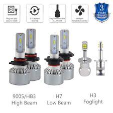 For Mazda Protege5 2002-2003 6x 9005 H7 Headlight & H3 Fog Light LED Combo Bulbs
