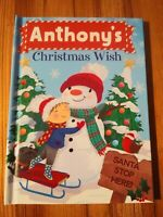 "Christmas Wish Book ""Anthony""- Perfect Stocking Stuffer"