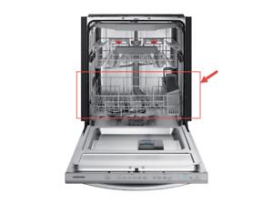 DD97-00606B (N) New OEM Samsung Dishwasher Basket Lower Low