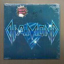 DIAMOND - S/T Mirror Mirror LP Vinyl Record NEAR MINT 1986 Hard Rock Rare