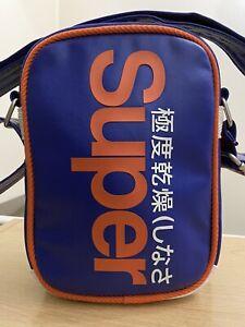 Superdry Festival Bag - Baseball Blue/Jaffa BNWT - F0033