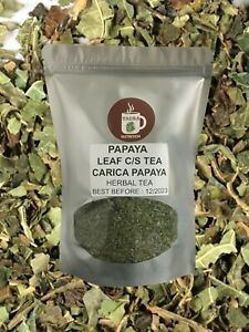 Papaya Leaf Cut and Sifted Herbal Tea - 100 % Natural