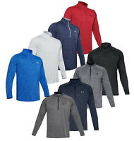2020 Under Armour UA Tech 2.0 1/2 Zip Golf Top - Choose Size and Color-1328495