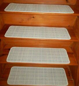 13 Step = 9'' x 30'' + 1 Landing 30'' x 30'' Stair Treads Wool Blend carpet  .