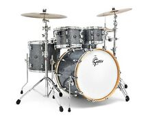 Gretsch Renown 4 Piece Euro Drum Set Blue Metal - Blowout Deal!