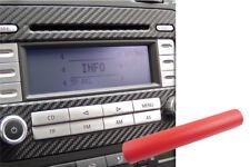 Coques de rétroviseurs 6x Premium A B C Pilier Porte Barres Voiture Film Set CARBONE ROUGE pour de nombreux véhicules Auto, moto - pièces, accessoires