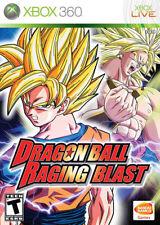 Dragon Ball Raging Blast Xbox 360 New Xbox 360