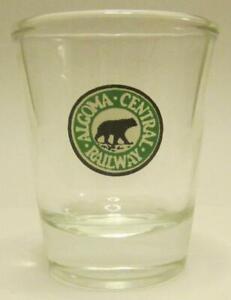 Very Nice Algoma Railroad Shot Glass