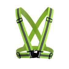 High Visibility Adjustable Safety Reflective Vest Reflective Gear For Sports Gr