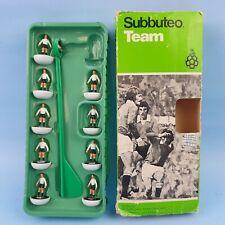 vintage Table Soccer 1970's Subbuteo Soccer Team C100 Original