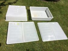 IKEA Plastic Home Storage Boxes with Underbed