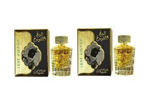 2 x Sheikh Al Shuyukh Luxe Edition By Lattafa 100ml EDP Unisex (pack of 2)