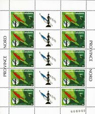 FRANCE TOM Nouvelle-Calédonie  1991   Feuille YT n° 611 neuf ★★ luxe / MNH