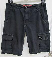 LEVI's Men's Black Cotton Cargo Shorts- Size 29