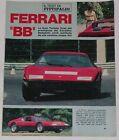 Article Articolo 1976 FERRARI 365 GT/4 BB