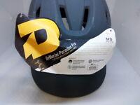DeMarini Paradox Fitted Pro Batting Helmet Medium (6 1/8-7 1/4), Charcoal