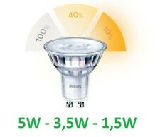 Philips Riflettore Led 5-50W 827 GU10 PAR16 36D Sceneswitch Regolabile senza