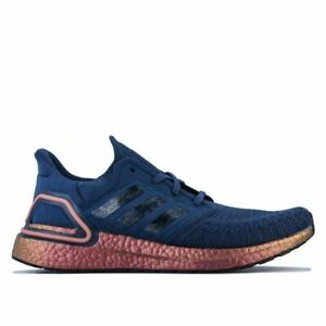 Men's adidas Ultraboost 20 Lightweight Running Trainer Shoes in Purple