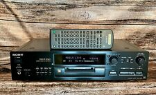 Sony MDS-JB920 Mini Disc Player / Recorder in good condition with remote and man