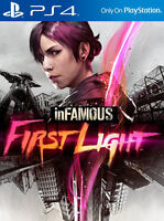 inFamous: First Light (Sony PlayStation 4, 2014)  NEW SEALED INFAMOUS