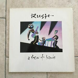 Rush _ A Show of Hands _ 2 X LP Vinile 33 giri _1989 Vertigo Holland Dischi Mint