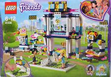 LEGO Friends 41338 Stephanies Sportstadion Tennis Baskettball Tribüne Vicky NEU