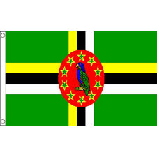 Dominica Flag 5Ft X 3Ft Caribbean Island Banner With 2 Eyelets New
