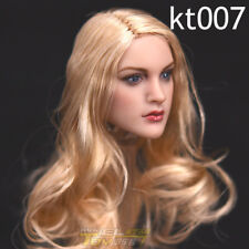 """KIMI TOYS KT007 1/6th Curly Blond Hair Girl Head F 12"""" TBleague Suntan Figure"""