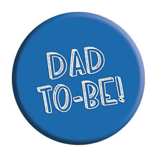 Dad To Be Badge Pin Baby Shower Gift Party Accessory Pregnancy New Daddy