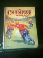 The Champion Annual for Boys 1951, Published 1950, Vintage Book
