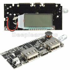 Dual USB 5V 1A 2.1A Mobile Power Bank 18650 Battery Charger PCB LCD Display