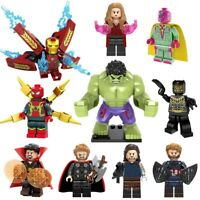 10 pcs  Lego Avengers Infinity War Super Heroes Building Blocks Toys Iron Man