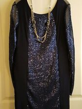 ABS Collection Women's Lined Evening Dress Size 14  Necklace Sold Separately