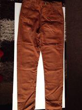 Denim & Co Rusty Brown Cotton Jeans GC W 30 L 32