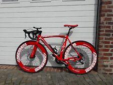Cyrusher Red supercross 70mm Alu Felgen Scheibenbremsen